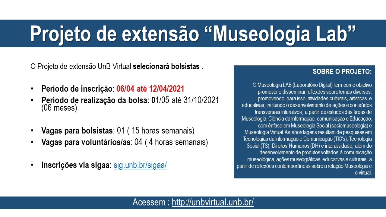 Projeto Museologia Lab
